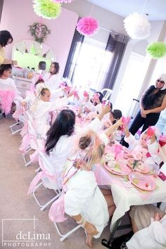spa parties great for your little princess great for summer playdates