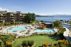 Take a peek at our lakefront resort in West Kelowna on the western shores of Okanagan Lake. Our beautiful accommodations and views are waiting for you. Lakeside Resort, Canada Travel, Wine Country, Palm Springs, The Places Youll Go, My Dream, Hotels, Outdoor, Dreams