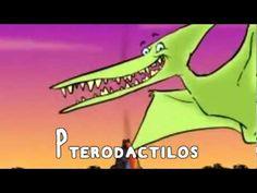 """Canción, nombres y características de dinosaurios. Proyecto """"Los dinosaurios"""". Recurso recomendado a los alumnos de 4 años. Colegio Nuestra Señora Santa María. Madrid. España"""
