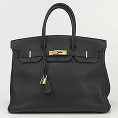 Hermes Berkin Bag - if a woman says she doesn't want a Birkin Bag, she's probably hiding the fact that she craves one more than chocolate.