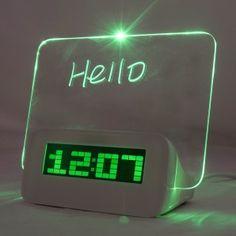creative erasable led alarm alarm clock all boards memo boards erasable memo board led highlighter digital clock