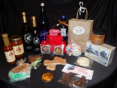 Saratoga Potato Chips, Saratoga Salsa, Bloody Mary Mix, Chocolate, Candy, Peanut Butter, Peppermint Pig