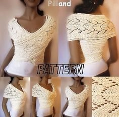 Ravelry: Lace Wrapped Sweater by Pille Ploomipuu