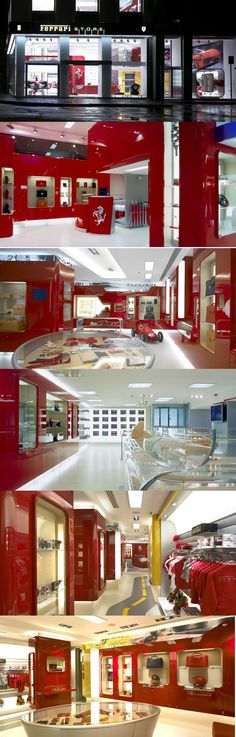 Ferrari Store by Massimo Iosa Ghini, Milan - Italy.