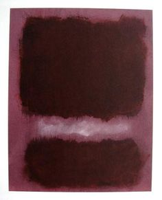 """Mark Rothko, """"Untitled"""" special Lithograph, 1968"""