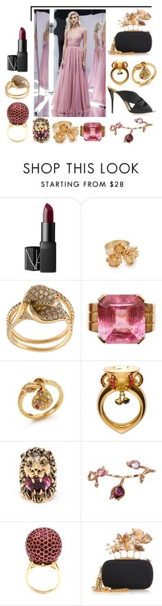 """Cover me up Cuddle me in"" by mymind-is-a-warrior ❤ liked on Polyvore featuring beauty, NARS Cosmetics, Aurélie Bidermann, Anita Ko, Leyla Abdollahi, Gucci, Plukka, Tanagro, Alexander McQueen and Oscar de la Renta"