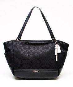 8dcfd240075a29 Loving this Khaki   Indigo Parker Signature Tote on  zulily!  zulilyfinds  COACH handbags 30% 0ff