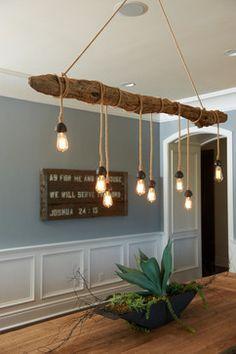 Lamp log. Cool.