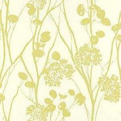 Schumacher Moonpennies Soft Chartreuse Wallpaper