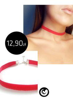 Kup mój przedmiot na #vintedpl http://www.vinted.pl/akcesoria/bizuteria/15704232-choker-z-gumowego-paseczka-czerwony-milimoon-red-naszyjnik-elastyczny