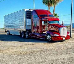 Big Rig Trucks, Tow Truck, Semi Trucks, Kenworth Trucks, Peterbilt, Big Ride, Trailers, Trailer Storage, Heavy Construction Equipment