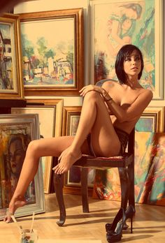 That Woman IS Art - adriana-silver:   Real horny!    Beautiful!