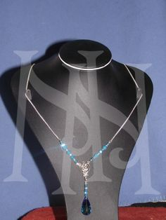 The life giving water is around all of us. The inspiration behind this necklace was simple, that of flowing water.