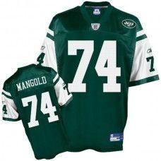 Reebok New York Jets Nick Mangold Replica Jersey Large. Linda · NFL ad5aeba0a