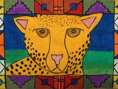 a faithful attempt: Ndebele African Animal Drawings/ I want to add this to my projects