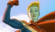 Ilustración de la Capitana Marvel en los cómics Marvel Avengers, Captain Marvel, Princess Zelda, World, Fictional Characters, The Avengers, The World, Fantasy Characters