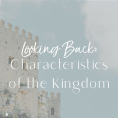 We are citizens of the Kingdom of God. Let's live like it! #lookingback #kingdomofgod #faith The Kingdom Of God, Looking Back, The Past, Faith, Let It Be, Thoughts, Live, Learning, Blog