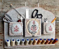 Needlework Organizer Tutorial