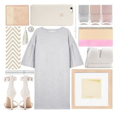 """soft and gentle"" by foundlostme ❤ liked on Polyvore featuring MM6 Maison Margiela, Gianvito Rossi, Zelens, Jil Sander, NOVICA, Givenchy, Paul & Joe, Nails Inc. and minidress"