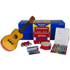 Woodstock Music Collection Music Box 6-Piece Instrument Collection by Woodstock Percussion, Inc.. $109.99. Woodstock's child size Ukulele is a high quality wood instrument that, in addition to being cool, is an excellent starter instrument for future guitar players. Woodstock is committed to designing, manufacturing and selling high-quality, safe products. Accordion has a true authentic sound and comes with detailed playing instructions, JingleBand has 4 riveted jingle bells. ...