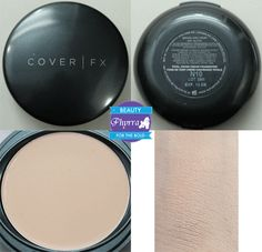 Cover FX Total Cover Cream Foundation Review & Application Tutorial via @Phyrra #vegan #crueltyfree