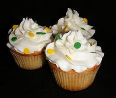 Coconut Lime cupcakes from Domestic Sugar