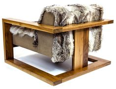 'Caribou Chair by Sentient. @2Modern'