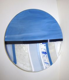 Frost Heave Fused Glass Bowl by JanuaryMayDesigns on Etsy