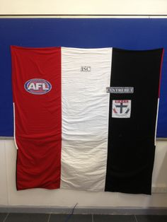 St Kilda Football Club Quilt Made for my youngest son Daniel as a Christmas gift for 2012 St Kilda, Quilt Making, Sons, Christmas Gifts, Football, Club, Quilts, Xmas Presents, Hs Football