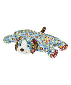 Look what I found on #zulily! Print Pizzazz Sunny Dog Puff Plush Toy #zulilyfinds