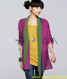 #Swanmarks Liebo New 2012 Color Cotton Short Coat