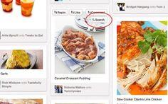 Pin Search, un nuevo botón para buscar información de las imágenes de Pinterest (Chrome)