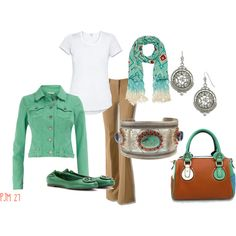 """I like everything except the jacket! """"Navajo Inspired"""" by pjm27 on Polyvore"""