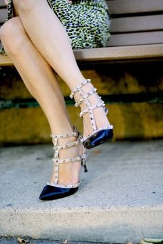 pointy toes & studs