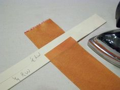 """""""How to Accurately Pleat Ribbon for Trims"""" - Threads - Kenneth D. King shares how he accurately pleats ribbon for trims using an easy-to-make template."""