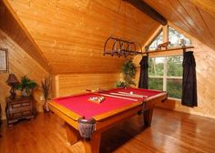 A Romantic Safari #163   Do you want to get away from it all? This Pigeon Forge log cabin is the perfect escape for you & your loved one! Click the pin to see more!