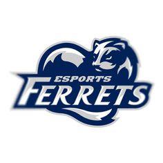Разработан логотип для кибер спортивной команды- Ferrets