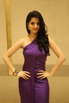 Vedhika Latest Hot Cleveage Spicy Violet Skirt PhotoShoot Images At SIIMA 2016 Tamil Press Meet