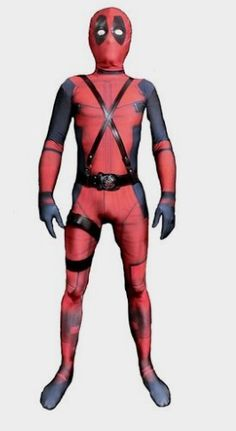 Amazon: Riekinc Unisex Lycra Spandex Zentai Halloween Cosplay Costumes Kids… Deadpool Costume for Kids http://amzn.to/2bcdtTG