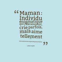 20 hilarious quotes from quotLa Mre Coupablequot that inform the story of younger moms with loads of humor Post Quotes, Funny Quotes, Humor Quotes, Funny Definition, Quote Citation, Poetry Poem, French Quotes, Geek Humor, Quotes For Kids