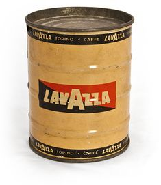 Lavazza vintage can 1950