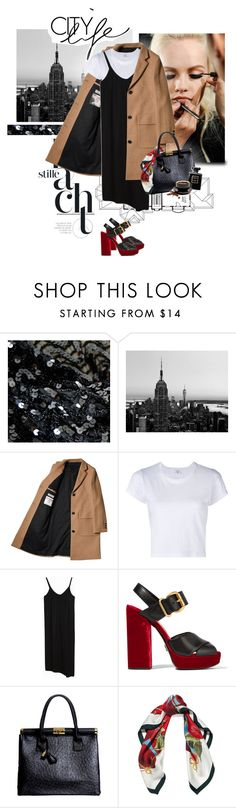 """""""City Life"""" by randomlife on Polyvore featuring GINTA, WALL, RE/DONE, Prada, Boohoo, Dolce&Gabbana, Chanel and Forum"""