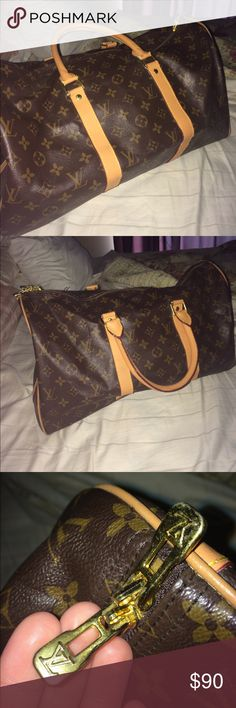 Small Louis Vuitton duffle bag Price reflects authenticity! Louis Vuitton Bags Travel Bags