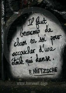 Citation Nietzsche Chaos : La demeure du chaos citations