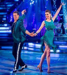 Sophie Ellis-Bextor and Brendan Cole - Strictly Come Dancing 2013 - Week 5