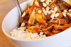Deze Honingkip a la Francine kun je ook prima in de slow cooker maken. De maizena voeg ik een half uur voor het einde van de kooktijd toe, zodat de saus nog een beetje kan indikken.