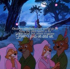 ah, one of my favorite Disney movies :)