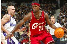 Mike Bibby & LeBron James