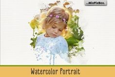 Ad: Watercolor Portrait Photo Masks by MixPixBox on Floating formations for your compositions Add the watercolor formations to your pictures. For example, let garments melt or superimpose Lightroom, Photoshop Elements, Photoshop Actions, Photoshop Effects, Adobe Photoshop, Watercolor Paper Texture, Watercolor Background, Bokeh, Overlays
