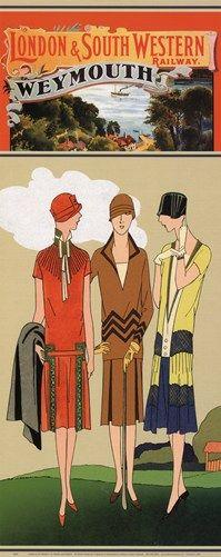 Buyartforless London & So. Western Railway Weymouth by Travelin Jane Vintage Art Deco Print Ladies Golf Posters Uk, Train Posters, Railway Posters, Art Deco Posters, Poster Prints, Art Prints, Green Label, Illustrations Vintage, Retro